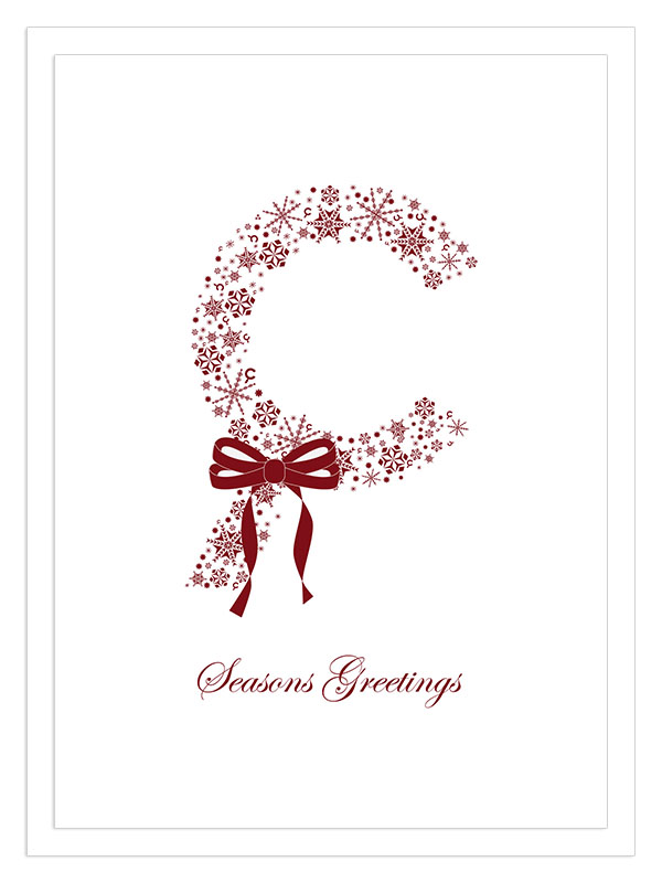 branding company holiday cards natalie andrews